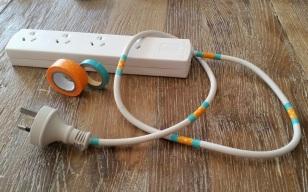Decorative Extension Cords B-O 2