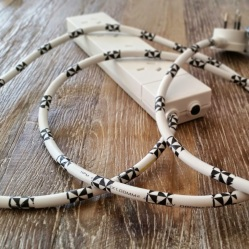 Decorative Extension Cords B-W 4