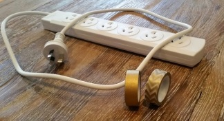 Decorative Extension Cords Gold 2