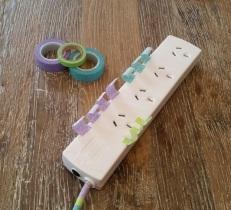 Decorative Extension Cords Pastel 1