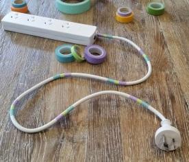 Decorative Extension Cords Pastel 2