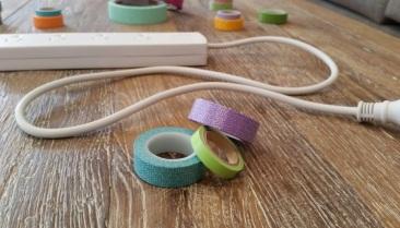 Decorative Extension Cords Pastel 3