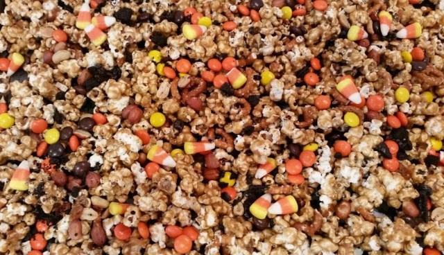 Halloween Caramel Corn Close Up
