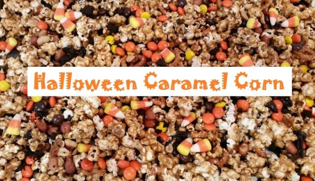 Halloween Caramel Corn Text 2