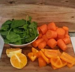 Orange You Lovely Ingredients Chopped 2