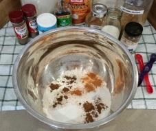 Pumpkin Donut Hole Dry Ingredients