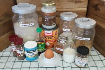 Pumpkin Donut Holes Ingredients