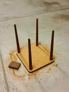 Side Table Sanding 2