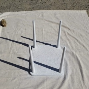 Side Table White Paint 1