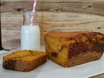 Spiced Pumpkin Loaf w/ Salted Caramel | www.whiskeyandchanel.com
