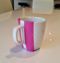 Stripe Mug Process 1