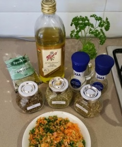 Veggie Stock Ingredients