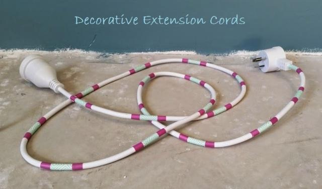 Decorative Extension Cords Text