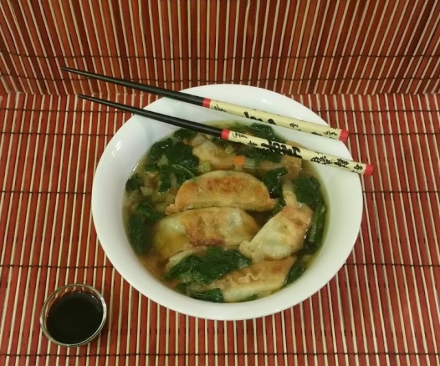 Potsticker Soup 5